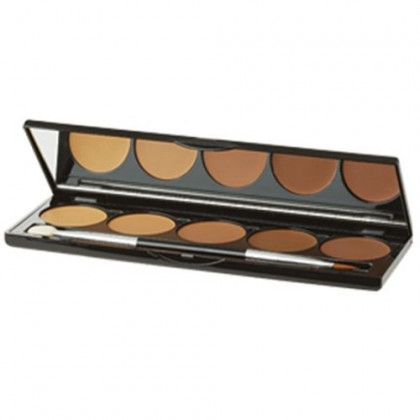 Jolie Cream Contouring Palette 5 Shade - Light or Dark (Dark)
