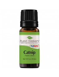 Plant Therapy Catnip Essential Oil 100% Pure, Undiluted, Natural Aromatherapy, Therapeutic Grade 10 mL (1/3 oz)