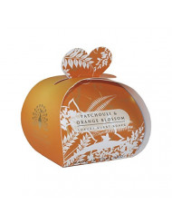 The English Soap Company Luxury Guest Patchouli & Orange Blossom Soaps for Women, 2 Ounce