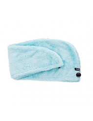 Studio Dry Pile-dry Microfiber Turban Hair Wrap, Blue, 0.3 Pound