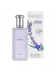 Yardley Of London English Lavender Eau de Toilette Spray for Women, 4.2 Ounce