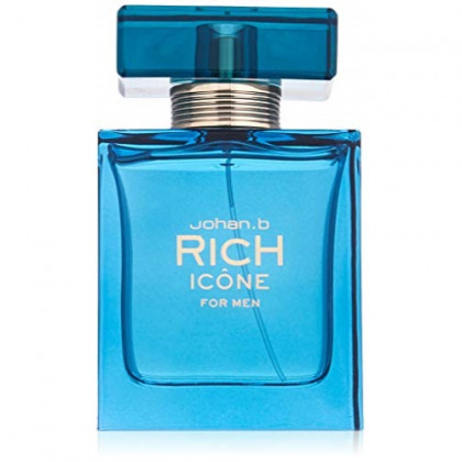 Johan B. Rich Icone for Men Eau De Toilette Spray, 3 Ounce