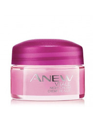 AVON Anew Vitale Night Cream - Travel Size 15 Grams (0.5 Oz.)
