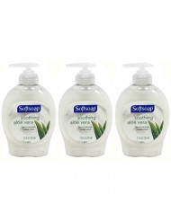 Softsoap Soothing Aloe Vera Moisturizing Hand Soap, 7.5 Ounce (Pack of 3)