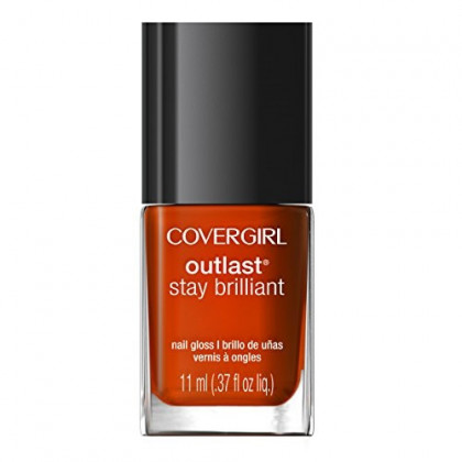COVERGIRL Outlast Stay Brilliant Nail Gloss, Fury 93, .37 oz