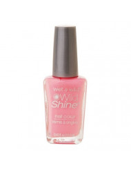 Wet n Wild Wild Shine Nail Color, Tickled Pink 402 0.43 fl oz