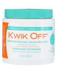 Sally Hansen Kwik Off Regular Nail Polish Remover 5.1 Ounce (3 Pack)