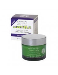 Andalou Naturals Hyaluronic DMAE Lift and Firm Cream, 1.7 Ounce (Pack of 2)