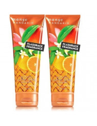 Bath and Body Works MANGO MANDARIN Ultra Shea Body Cream 2 Pack 8 once each