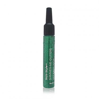 Styli-Style Shimmer Me-Glitters Face and Body Glitter Emerald City