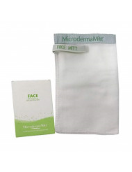 MicrodermaMitt Deep Exfoliating Face Mitt Firming Dry Skin Treatment-Unclog Pores, Repair Wrinkles, Sun Damage, Remove Imperfections and Improve Skin Texture