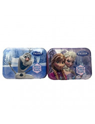 Disney Frozen Cotton Swab Collector Tins #9 and 10 Set of Two Anna/Elsa and Olaf