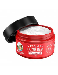 ORGANIC VITAMIN ENZYME MASK by MaryRuth's-74% Organic Ingredients, Vitamins & Glycolic Acid gently remove dead skin cells to allow new skin tissue to emerge 4oz For Men & Women