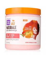 Curly Hair Products by SoftSheen-Carson Dark and Lovely Au Naturale Curl Defining Creme Glaze, with Mango Oil and Bamboo Milk, Defines and Softens Loose Spirals and Curls, Paraben Free, 14.4 oz