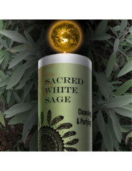 World Magic - Sacred White Sage Candle