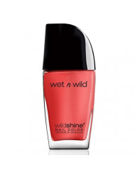 wet n wild Shine Nail Color, Grasping at Strawberries, 0.41 Fluid Ounce