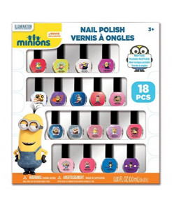 Minions Nail Polish Box, 18 Count