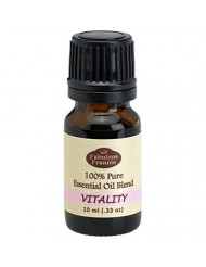 Vitality Essential Oil Blend 100% Pure, Undiluted Essential Oil Blend Therapeutic Grade - 10 ml A Perfect Blend of Spearmint, Eucalyptus, Orange and Lemon Essential Oils.