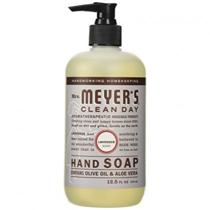 Mrs. Meyers Clean Day Liquid Hand Soap, Lavender - 12.5 Oz