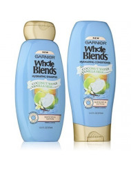 Garnier Whole Blends Haircare Hydrating Shampoo & Conditioner Set, 12.5 FL OZ