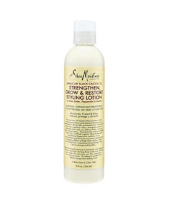 Shea Moisture Jamaican Black Styling Lotion 8 Ounce (235ml) (6 Pack)