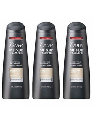 Dove Men+Care Fortifying 2-in-1 Shampoo + Conditioner, Complete Care, 12 Ounce (Pack of 3)