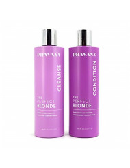 PRAVANA The Perfect Blonde Shampoo and Conditioner 11 Oz Combo Pack, Packaging may vary