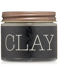 18.21 Man Made Hair Clay Pomade with Matte Finish for Men, Sweet Tobacco, 2 oz - Professional Hair Styling and Sculpting Clay Pomade for Short to Medium Length Hairstyles - Medium-Hold, Shine-Free