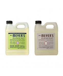 Mrs. Meyers Liquid Hand Soap Refill, 33 Fl Oz (Variety pack - 2)