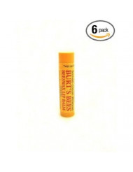 Burt's Bee's - Beeswax Lip Balm With Vitamin E & Peppermint PACK OF 6