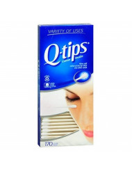 Q-tips Swabs 170 Each (Pack of 5)