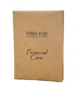Terra Pure Green Tea Hotel Personal Care Kit, Recycled Paper, Soy Ink Box (Case of 500)