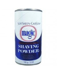 Soft Sheen Carson Magic Regular Strength Shaving Powder Blue 5Oz/142G by Magic