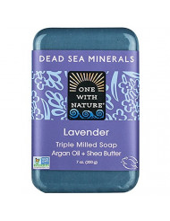 One With Nature Soap Bar Lavender
