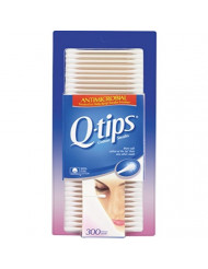 Q-tips Antimicrobial Cotton Swabs 300 Each (Pack of 6)