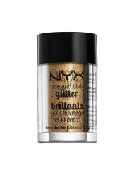 NYX Cosmetics Face & Body Glitter Bronze