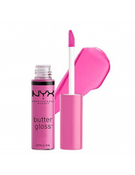 NYX PROFESSIONAL MAKEUP Butter Gloss, Cotton Candy, 0.27 Ounce