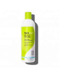 Devacurl No-Poo Original Cleanser; Zero Lather; Gentle for All Hair Types; Sulfate; Paraben and Silicone Free; 12 Fl Oz (1 Count)