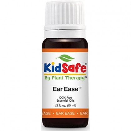 Plant Therapy KidSafe Ear Ease Synergy Essential Oil Pre-Diluted 10 mL (1/3 oz) 100% Pure, Therapeutic Grade