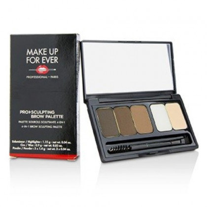 Make Up For Ever Pro Sculpting Brow Palette - # 2 (Harmony 2) 6.25g/0.19oz