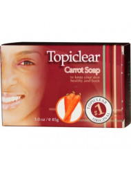 Topiclear Carrot Soap 3 oz. by Topiclear