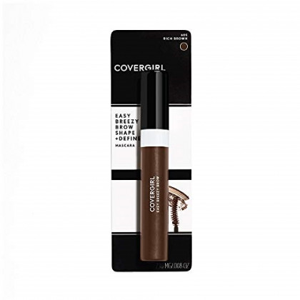 COVERGIRL Easy Breezy Brow Mascara (packaging may vary), Rich Brown, 0.3 Fluid Ounce