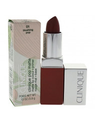Clinique Pop Matte Lip Colour + Primer, No. 01 Blushing Pop, 0.13 Ounce