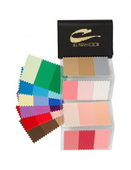 Supreme Swatch Book for Warm Blonde Hair Color: Your Perfect Colors - For Men & Women - Look Younger, Thinner, Soulful Wearing Your Colors and Fabrics! By Jill Kirsh Color, Hollywood's Guru of Hue