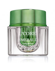 L'Core Paris Ultimate Collagen Cream - Includes Real Emerald Extracts for Effective Face Anti Aging, Rejuvenating, Smooth & Tightens Your Skin, Adds Essential Glow - 1oz/30ml