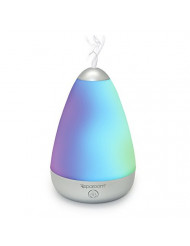SpaRoom PureMist Ultrasonic Essential Oil Diffuser and Fragrance Mister with LED Light Show, 100mL