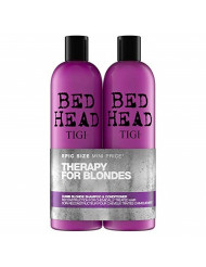 Tigi Tigi Bed Head Dumb Blonde Shampoo & Reconstructor Conditioner Duo Pack, 50 Oz
