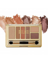 Milani Everyday Eyes Eyeshadow Palette - Earthy Elements (0.21 Ounce) 6 Cruelty-Free Matte or Metallic Eyeshadow Colors to Contour & Highlight