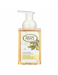 South Of France Foaming Hand Wash Lemon Verbena With Hydrating Organic Agave Nectarc 8 Oz