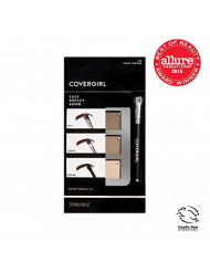 COVERGIRL Easy Breezy Brow Powder Kit, Soft Blonde (packaging may vary)